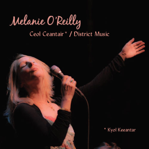 Cover for Melanie O'Reilly's album Ceol Ceantair