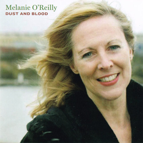 Cover for Melanie O'Reilly's album Dust and Blood
